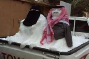 Snow + Jews!
